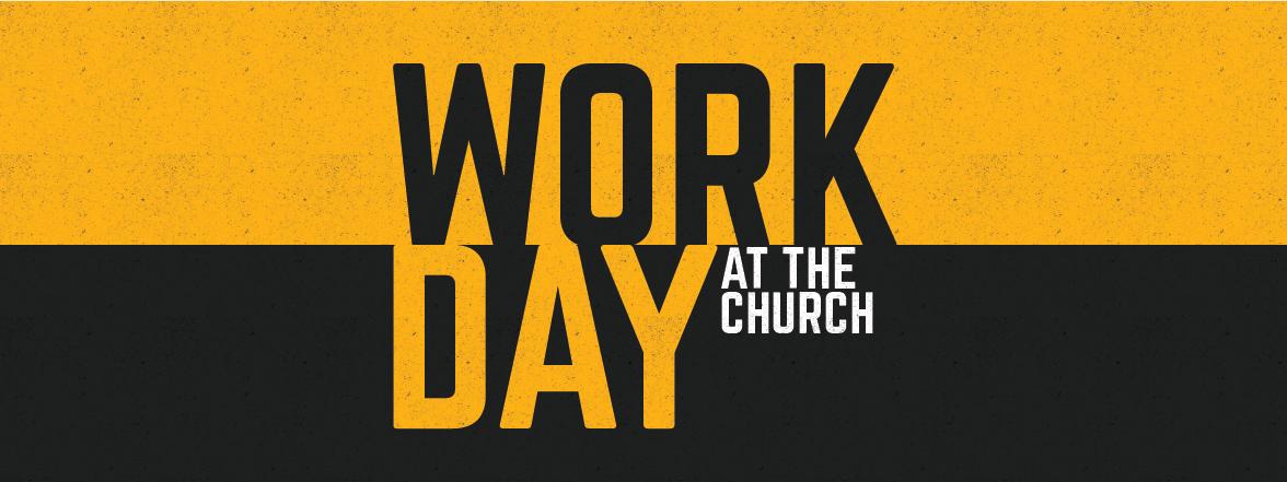 Fall church workday