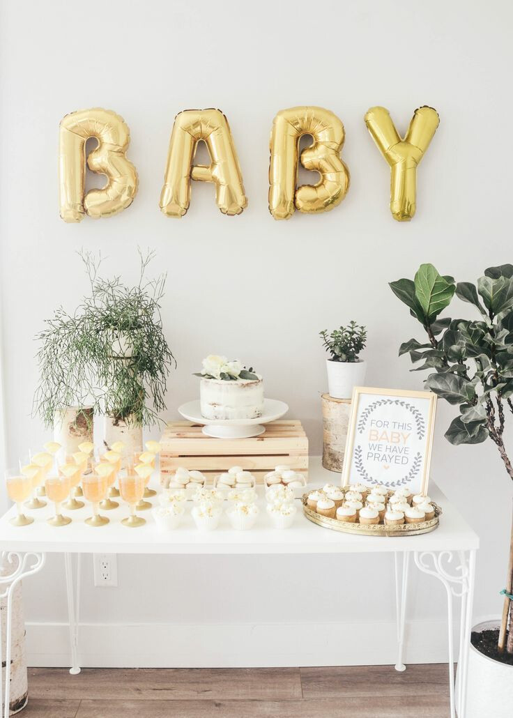 Lydia Kroeker's baby shower