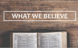 What We Believe - Session #5 - Covenant Theology